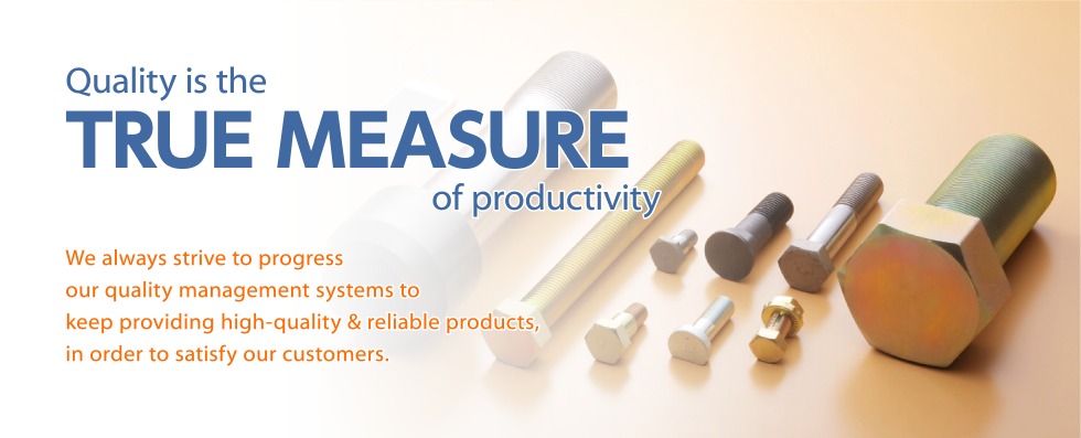 Quality is the TRUE MEASURE of productivity